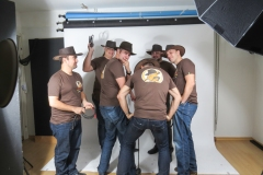 Behind the Scenes @ Team Fotoshooting