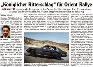 Allgäuer Anzeiger vom 09.11.2013